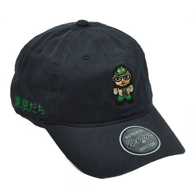 NCAA Zephyr Notre Dame Fight Irish Navy Tokyodachi Collection Relaxed Hat  Cap 939a72f6105f