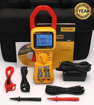 FLUKE 345 POWER QUALITY CLAMP METER DRIVERS FOR WINDOWS 7