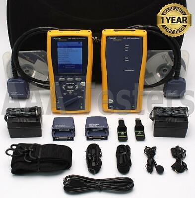 Fluke Networks DTX-1200 Cat5e Cat6 Certifier Cable Tester Analyzer DTX DTX1200