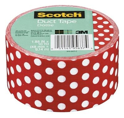 Scotch 1564358 Duct Tape 1.88 in. x 10 Yards Dottie