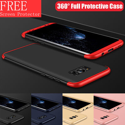For Samsung Galaxy S8 Plus Shockproof 360 Full Protective Case+ Screen Protector