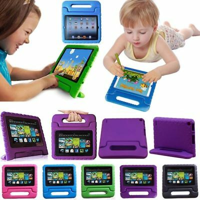 "Children Kids Safe Case EVA Cover Handle Stand Amazon Kindle Fire 7"" 2015/2017"