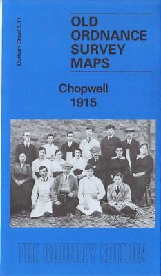 Old Ordnance Survey Map Chopwell 1915 Chopwell Colliery Pit No's 1,2 & 3