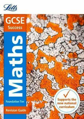 GCSE 9-1 Maths Foundation Revision Guide by Letts GCSE 9781844198061