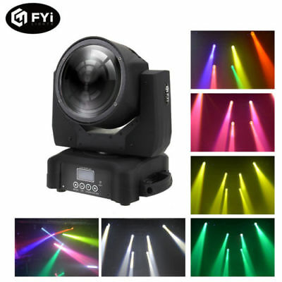 LED Moving Head Beam Light 8 CHs RGBW Stage Light 60W DMX for Club KTV DJ Party