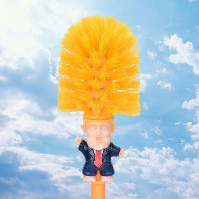 Toilet Cleaning Brush Donald Trump Make Great Again Wc Cleaner Gag Funny Gift