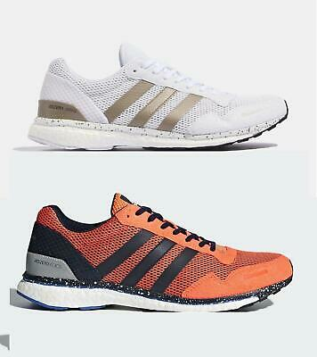 premium selection 82db8 a6104 adidas Performance Adizero Adios Boost 3 M running Shoes Trainers - 2  Colours