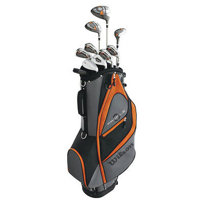 Wilson Profile XD Teen Right Handed Complete Golf Club Set with Bag, Orange