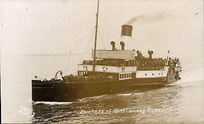 Ryde, Isle of Wight. Paddle Steamer Duchess of Kent by Pierview Studio, Ryde.