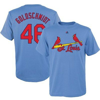 Paul Goldschmidt St. Louis Cardinals Majestic Youth Name & Number T-Shirt -