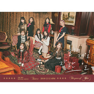 [TWICE] The Year of Yes(Random Ver) 3rd Special Album CD+Booklet+Photocard Gift