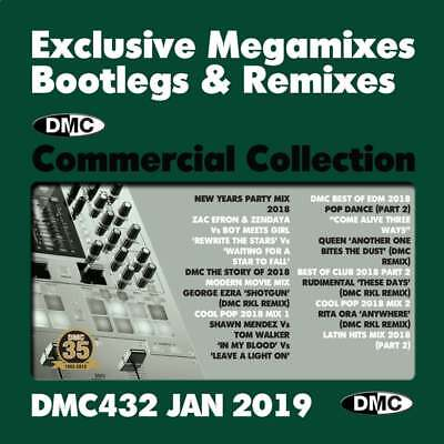 DMC Commercial Collection Issue 432 Bootleg Remix & Megamix DJ Double Music CD