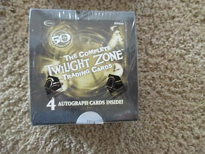 Rittenhouse 2009 The Complete Twilight Zone 50th Anniversary Factory Sealed Box