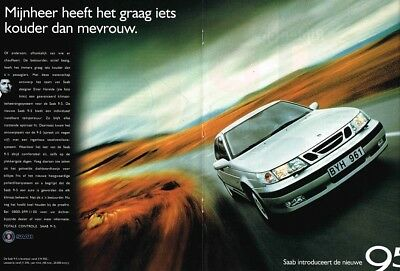 1997 Saab 9-5 (Dutch, 2pg.) Advertisement (AAE.681)
