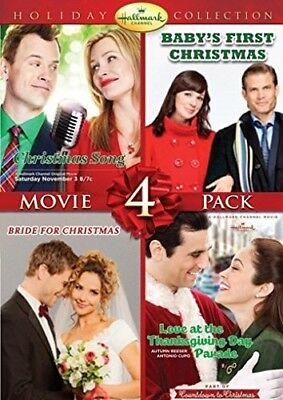 HALLMARK HOLIDAY COLLECTION VOL 4 DVD Bride for Christmas Thanksgiving Parade