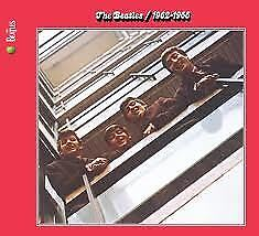 "2CD THE BEATLES ""RED ALBUM 1962 1966  -REMASTERED-"". New and sealed"