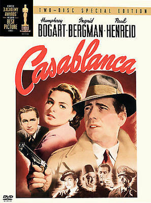 Casablanca (DVD, 2003, 2-Disc Set, Two Disc Special Edition) NEW