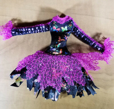 Monster High Bonita Femur Freaky Fusion Dress/Belt ONLY Replacement Clothes