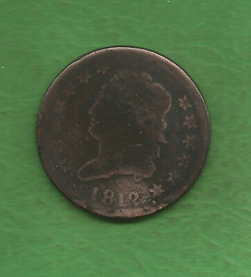 1812 Classic Head, Large Cent - 207 Years Old!!!
