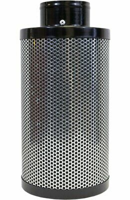 Indo 4 Inch Air Carbon Filter, 12 Inch Length Odor Control Charcoal Filter, pre-