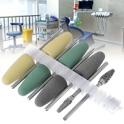 Dental Silicone Resin Base Acrylic Polishing Bur Dental Lab Diamond Polish Tool