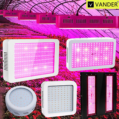 New VANDER High Quality LED Grow Light Full Spectrum Hydro Medical Plant Lamp