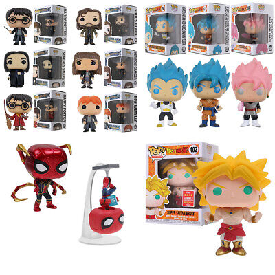 Funko Pop Dragonball Z Super Saiyan Vegeta Harry Potter Acción Figuras Toy