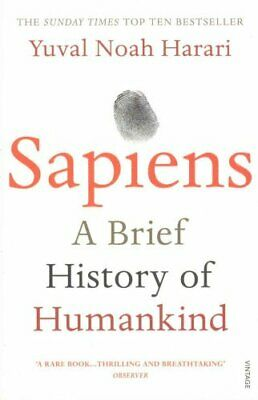 Sapiens A Brief History of Humankind by Yuval Noah Harari 9780099590088