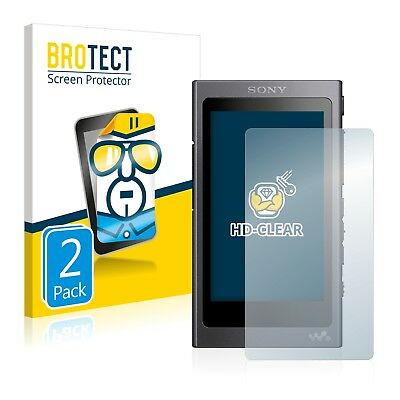 2x BROTECT Screen Protector for Sony NW-A45 Protection Film