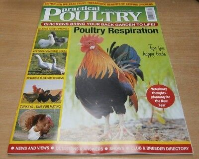 Practical Poultry magazine Jan/Feb 2019 Poultry respiration + Silkies breed