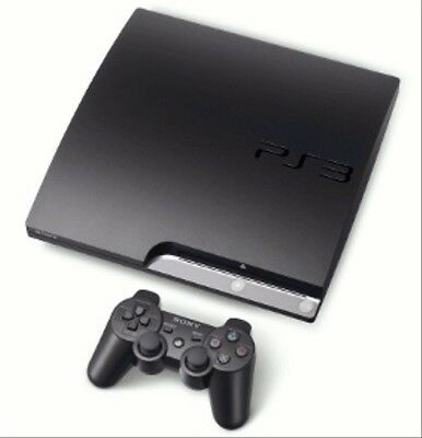 Sony PlayStation 3 slim 320GB [inkl. Wireless Controller, J-Modell] schwarz