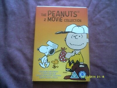 The Peanuts 2 Movie Collection Dvd Charlie Brown