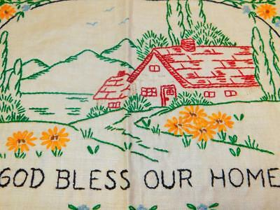 Vintage Completed COLORTEX Process Pure LINEN SAMPLER God Bless Our Home