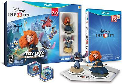 Disney INFINITY: Toy Box Starter Pack (2.0 Edition) - Wii U USED!