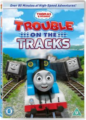 Thomas the Tank Engine and Friends: Trouble On the Tracks DVD NEW