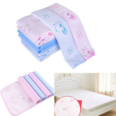 Waterproof Washable Incontinence Bed Pad Wetting Mattress Protector S M L
