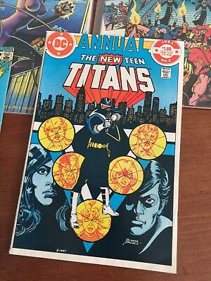 New Teen Titans annual #2~~1st appearance of Vigilante