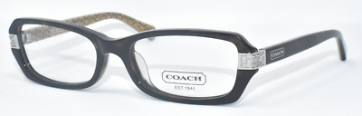 67d4a588865 New Authentic Coach Eyeglasses Hc6005A 5033 Marjorie Dark Tortoise 53-17-135