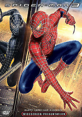 Spider-Man 3 (DVD, WIDESCREEN, 2007)