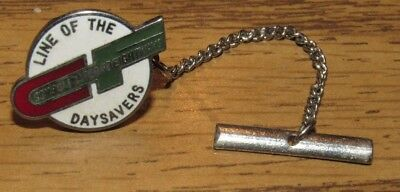Vintage Consolidated Freightways CF Trucking Company Tie Clasp Pin Tack