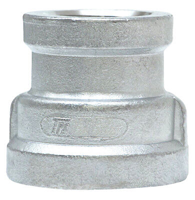 "Trenton Pipe SS316-64140X20 Stainless Steel Grade 316 Reducing Coupling, 4"" x 2"""