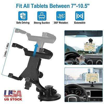 Car Windshield Dash Suction Mount Holder Stand Cradle For GPS iPad Galaxy Tablet