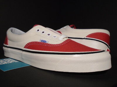 f6ae354c128 Vans Era 95 Dx Anaheim Factory Red Off White Black Fear Of God Vn0A2Rr1U8Q  New 9