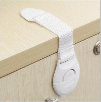 1x Safe Child Infant Baby Kid Drawer Door Cabinet Cupboard Toddler Safety Lock