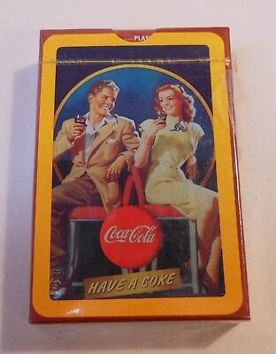 "Coca Cola ""Have a Coke"" Sealed Deck of Playing Cards"