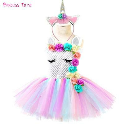 Pastel Unicorn Tutu Dress