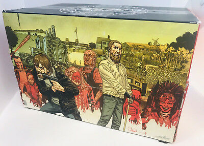 Walking Dead Compendium 15Th Ann Box Set Signed By Charlie Adlard W/re-Mark