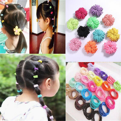 Ties Basic  Elastic Hair Band Rubber Bands Hair Accessories Ponytail Holder
