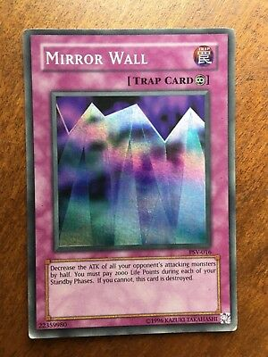 Yugioh Card Yu-Gi-Oh MIRROR WALL PSV-016 Foil Holographic LOOK!