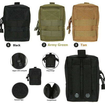 Tactical Molle Bag First Aid Medical EMT Pouch Outdoor Emergency Military Bag